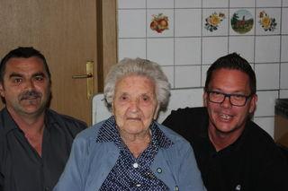 Emilie Horvath aus Rechnitz beging ihren 95. Geburtstag.