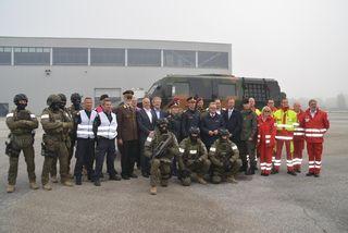 Am Messegelände Oberwart findet eine Großübung der Polizei und weiterer Einsatz- und Spezialkräfte statt.