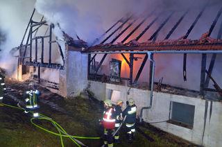 110 Feuerwehrleute konnten eine Katastrophe verhindern.