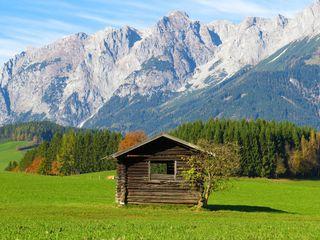 Am Buchberg in Bischofshofen zeigt der Herbst was er kann