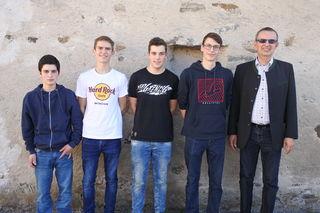 Johannes Strohmayer, Johannes Zach, Stefan Gererstorfer, Sebastian Nosko, Rudolf Mayer