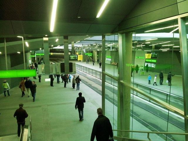 """""""Hotspot"""" Hauptbahnhof: Bei Bedarf kann die Polizei auf die Videoaufnahmen zurückgreifen, sonst werden sie gelöscht."""