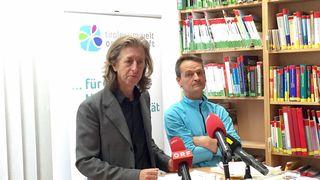Landesumweltanwalt Johannes Kostenzer und sein Stv. Walter Tschon