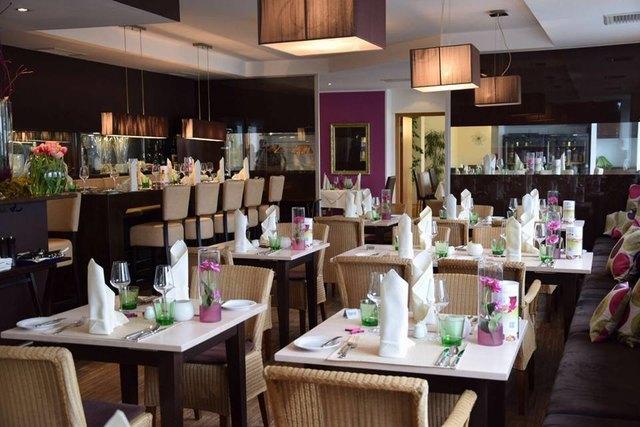 Im Restaurant Blauenstein an der Steiner Donaulände 56 (Haus der Regionen) legt man Wert auf Ästhetik.
