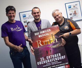 Ruth - Das Musical: Am 25. Oktober im Festsaal der Marktgemeinde in Ober-Grafendorf.