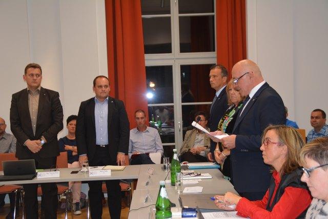 In Oberwart fand die konstituierende Sitzung des Gemeinderats statt.