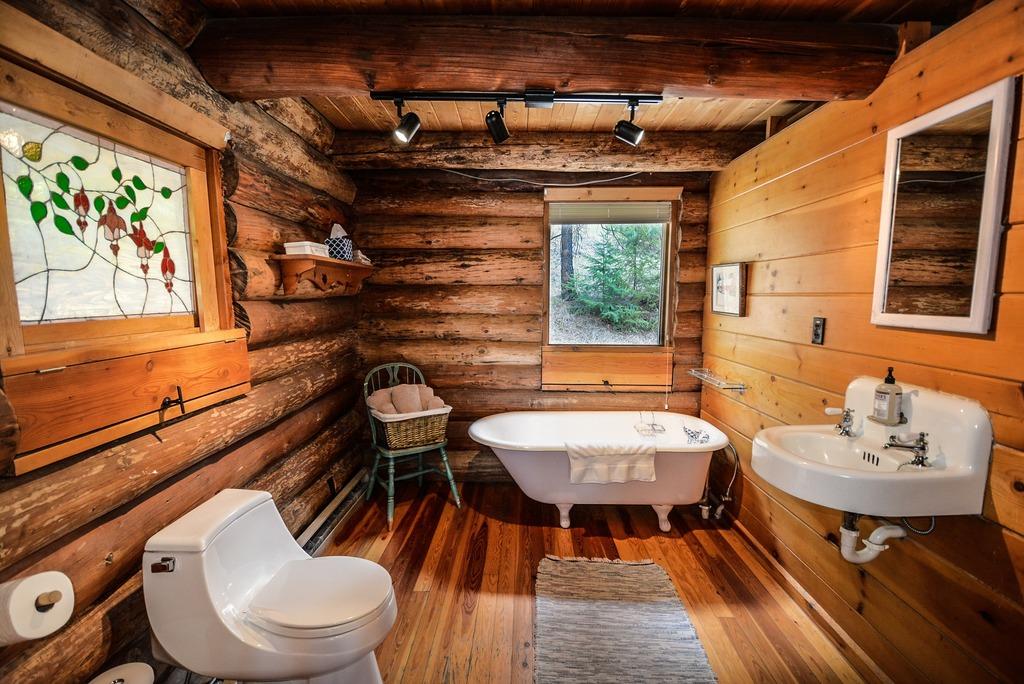 Holz im Badezimmer ist kein Tabu