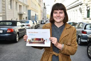 Laura Plochberger von der Uni Wien und der Verein Ceurabics suchen Senioren als Freunde für zugezogene Menschen.