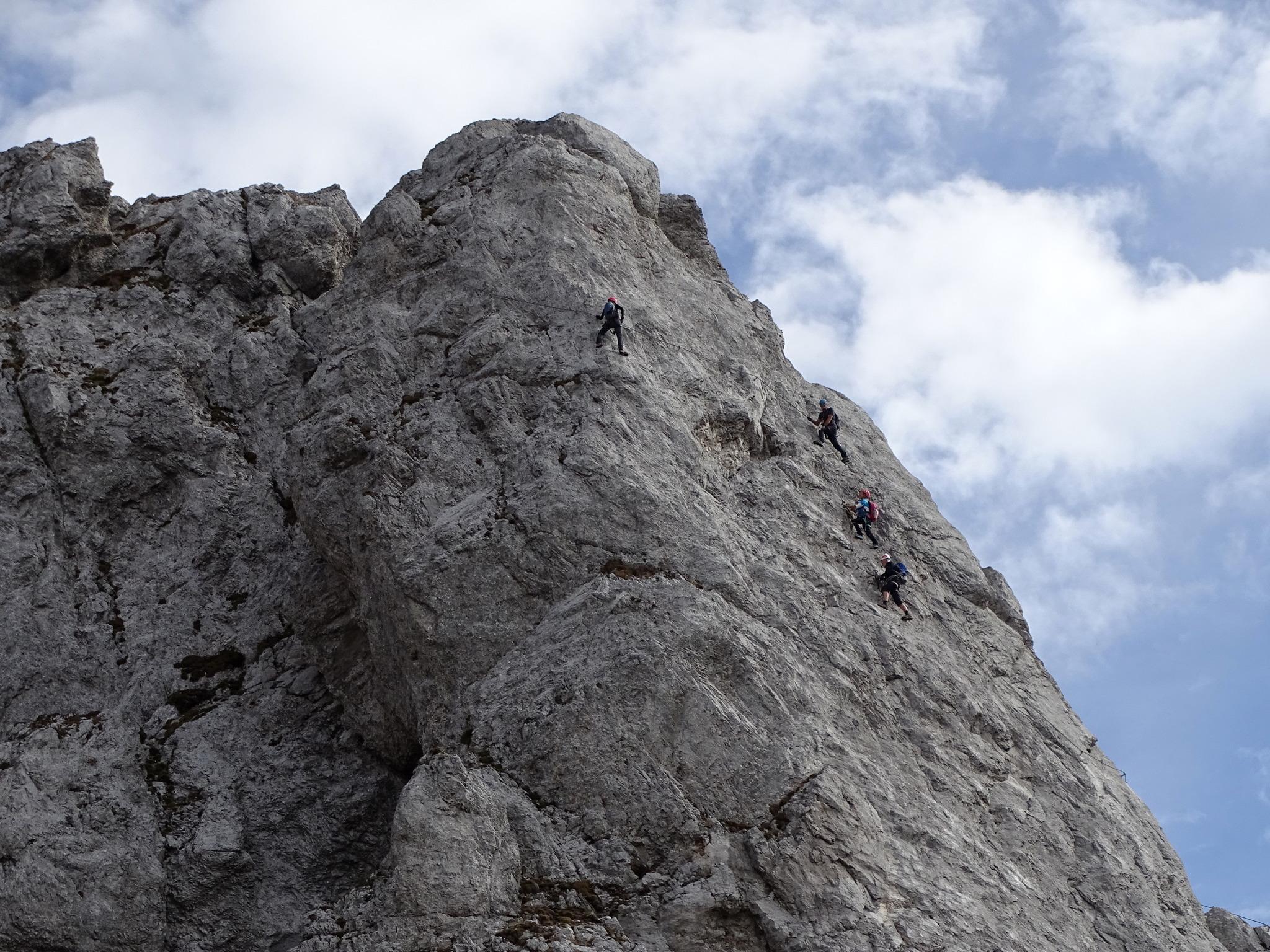 Klettersteig Däumling : Däumling klettersteig und gartnerkofel 2195m hermagor