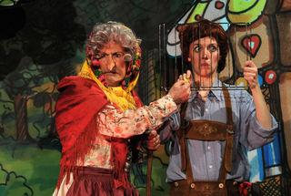 Die Hexe und der schlaue Hänsel im Theater L.E.O.