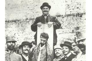 """Josef Lang war der letzte Scharfrichter Österreichs. Mit dem Würgegalgen vollstreckte der """"lachende Henker"""" die Todesurteile."""