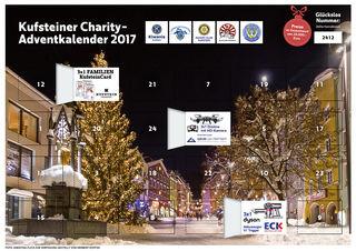 Auch 2017 gibt es den Kufsteiner Charity-Adventkalender wieder.