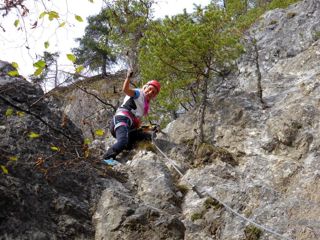 Klettersteig C : Norbert schluga klettersteig hohe wand hermagor