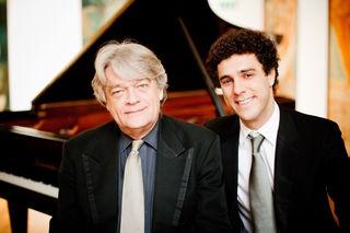 Klavierduo Christos Marantos & Harald Ossberger (li.)