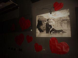 Liebe und Italien, bei der After-Show-Party der Oper Graz...