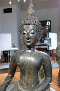 Weltmuseum, Wien, Buddha, Thailand, 16. Jh. Bronze