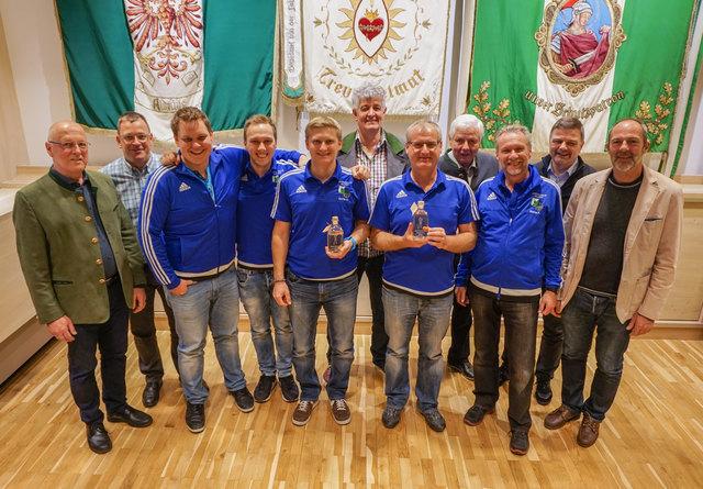 Die Schützenkompanie Sellrain holte sich die Teamwertung und stellte mit Martin Kirchmair auch den Schützenkönig!