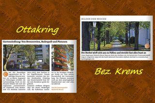 Diesmal an die Redaktionen von Ottakring und dem Bezirk Krems.