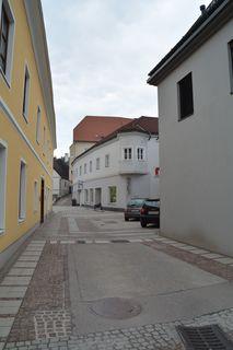 An dieser Stelle in der Scheibbser Hauptstraße befand sich früher einmal das Gamingertor.