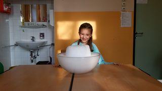 Valerie Gmoser (9) besucht die Talenteschmiede Klosterneuburg-Kritzendorf