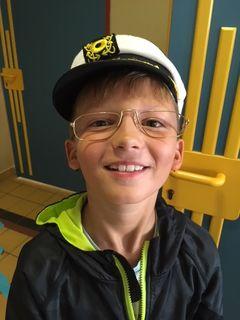 Luis Pacher (9) besucht ein Angebot der Talenteschmiede Stockerau