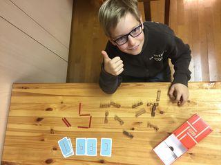 Yanic Moser (11) besucht ein Angebot der Talenteschmiede St. Pölten