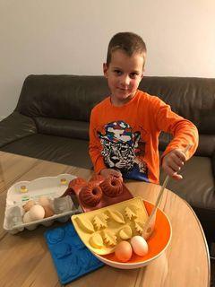 Ivan Saraf (6) besucht die Talenteschmiede Bad Fischau-Brunn