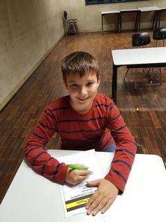 Julian Rittmannsberger (9) besucht ein Angebot der Talenteschmiede Waidhofen/Ybbs