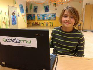Simon (8) besuchte ein Angebot der Talenteschmiede Mistelbach