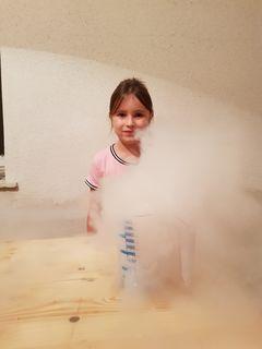 Sarah Fankhauser (8) besucht ein Angebot der Talenteschmiede Hernstein