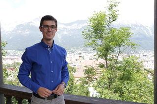 Max Hagenbuchner ist Obmann der Tiroler Schülerunion.