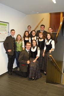 Das neue Team der Bezirkslandjugend St. Veit mit Bezirksobmann Karl Scheiber und Bezirksleiterin Verena Ratheiser