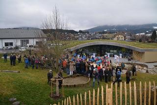 Das neue Kinderland Pagitsch wurde mit Kindern, Eltern und vielen Gästen eröffnet