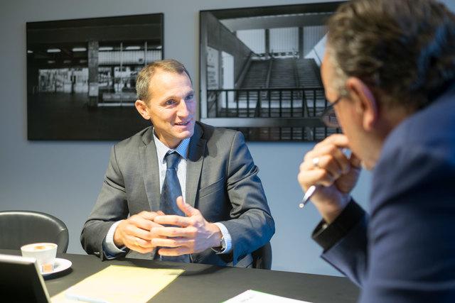 """Erste Bank-Chef Stefan Dörfler: """"Wenn bei uns zwei Tage der Strom ausfallen würde, dann sind wir dafür gewappnet."""""""