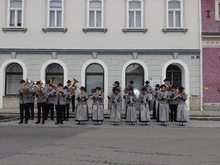 Marktmusik Straß.