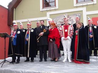 Abschied für das bisherige Prinzenpaar Philipp I. und Ramona I.