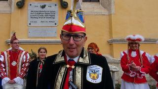 SFG Präsident Helmut Schwimmer.