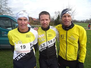Willi Bernecker, Alexander Weiß, Hermann Grall (v.li.)