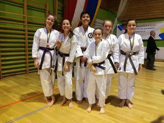 Die erfolgreichen Sportler des Karateklubs Kirchdorf/Windischgarsten.