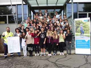 Die Schüler der PTS Gleisdorf werden durch verschiedene Workshops und berufspraktische Wochen auf die Lehre vorbereitet.