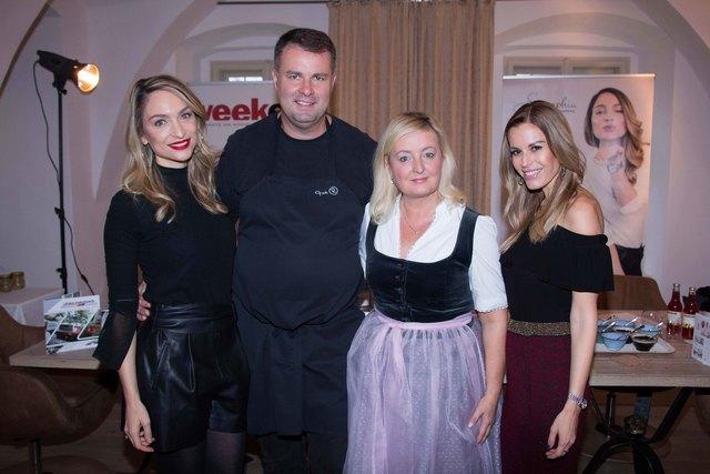 Stefanie Michl-Kogler, Tom und Katarina Riederer, Kerstin Zacharias.