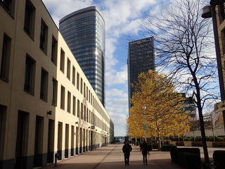 14.11.2017 TownTown mit Orbi Tower und Stadtwerke Hochhaus