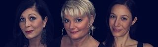 Eva Brislinger liest Texte und wird musikalisch begleitet von vier Damen an Cello, Klavier und Gesang.