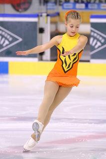 Lara Hunter wurde in Graz beste Österreicherin in ihrer Altersklasse.