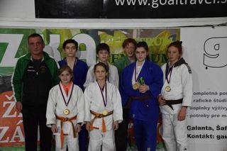 Die Judoka aus dem Salzkammergut räumten auch beim Turnier in der Slowakei ab.