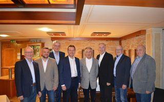 Foto: Werner Gradwohl, Herbert Baumrock, Paul Kraill, Nikolaus Berlakovich, Karl Kaplan, Paul Kiss, Josef Rathmanner, Albert Maschler
