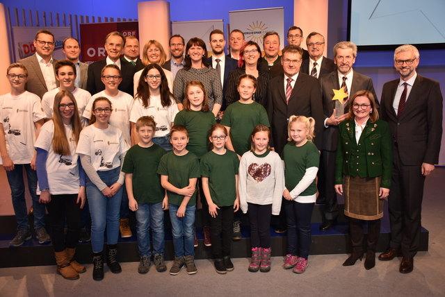 Hanf macht Schule! Energiestar 2017 für Gemeinde Pabneukirchen
