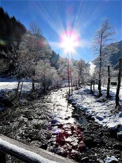Eisige Kälte in Untertauern. Der Winter kann kommen!