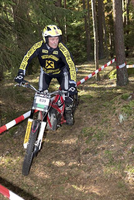 Fritz Eibl ist Instruktor im Ohlsdorfer Trialgarten.