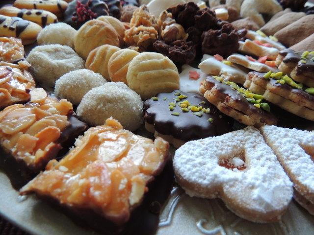Feine Weihnachtskeske werden in der Küche der Polytechnischen Schule in Scheibbs zubereitet.